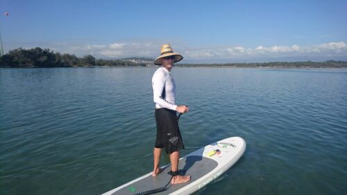 """Sunny King Inflatable 10'6"""" SUP Package"""