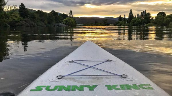 """Sunny King Inflatable 12'6"""" SUP Package"""