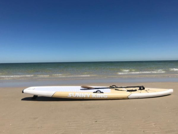 "Sunny King 12'6"" Bamboo Adventure Series SUP"