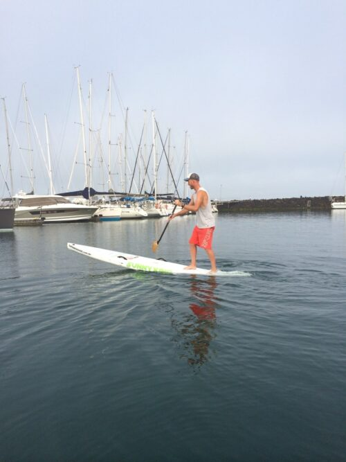 "Sunny King 12'6"" (26.5"") Carbon Racing SUP"