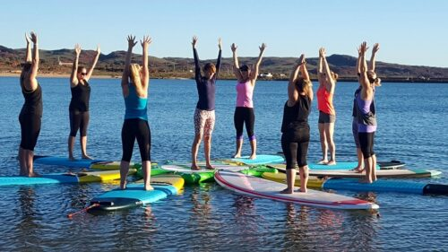 iPONTOON - Inflatable SUP Yoga Docking Station